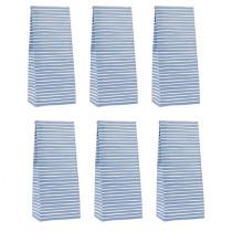 Geschenktütchen Set Nordic Stripes Blau