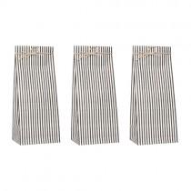 Geschenktütchen Set Black Stripes Mini
