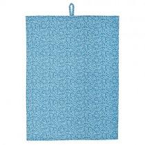 Geschirrtuch Blümchen Blau