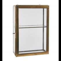 Wandschrank mit 4 Glasseiten