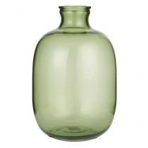 Glasballon Vase