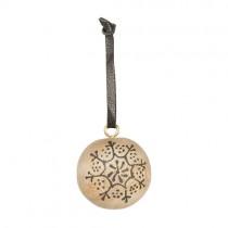 Holzkugel mit Muster Ø 3,5cm