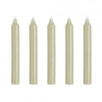 Kerzen Set 18cm Pastellgrün