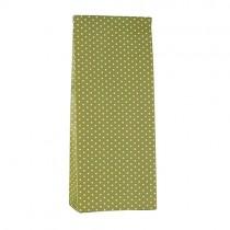 Geschenktütchen grün mit Punkten Klein