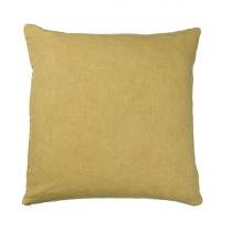 Leinenkissen 50x50 Mustard