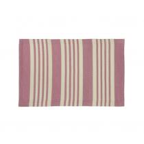 "Kunststoff Teppich ""Pattern"" 60cm x 90cm Rosa"