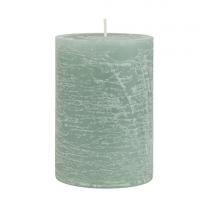 Rustic Kerze Grün 10cm