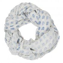 """Schal """"Elsa"""" Floral Blau"""