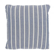 "Boxkissen ""Stripes"" Blau"