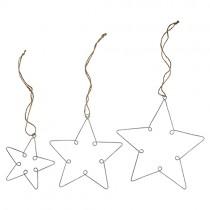 LOOP Anhänger Sterne Set