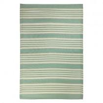 """Kunststoff Teppich """"Stripes"""" 120x180cm Grün"""