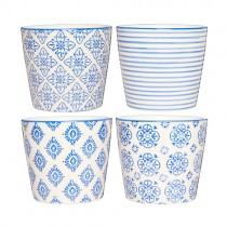 Casablanca Blau Becher Set