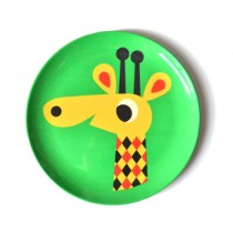 Melamin Kinderteller Giraffe