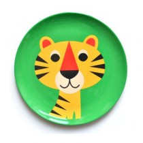 Melamin Kinderteller Tiger