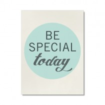 "Karte ""Be Special Today"""