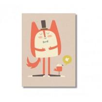 """Karte """"Paper & Cloth"""" Fat Cat"""