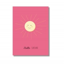 "Karte Papier Ahoi ""Hello Sunshine"""