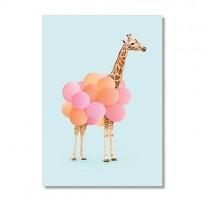 "Karte ""Paul Fuentes"" Giraffe"
