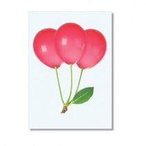 "Karte ""Paul Fuentes"" Kirschballons"