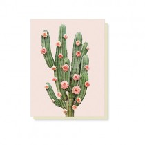 "kleine Klappkarte ""Paul Fuentes"" Kaktus"