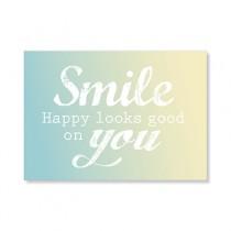 "Karte ""Smile"""