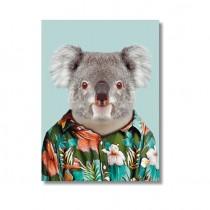 """Karte mit Tierportrait """"Koala"""""""