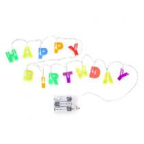 Lichterkette HAPPY BIRTHDAY