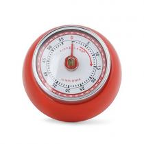 Magnetischer Küchentimer RETRO Rot