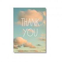"""Alicia Bock Karte """"Thank you"""""""