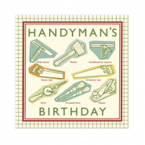 Klappkarte Handyman's Birthday