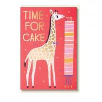 """Klappkarte """"Time for cake"""""""