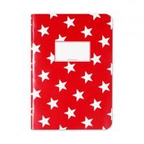 Krima & Isa Heft Rot mit Sternen