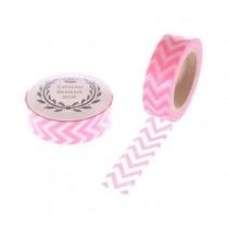 Masking Tape Zickzack Pink