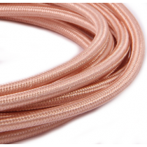 Textilkabel 3 Meter Rosé Copper