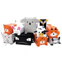 Geschenkpapier Set ANIMALS