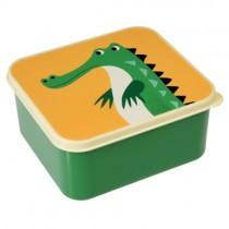 Lunchbox Bunte TIERFREUNDE Krokodil