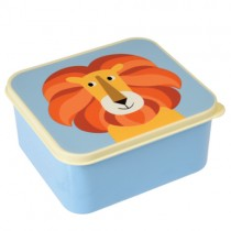 Lunchbox Bunte TIERFREUNDE Löwe
