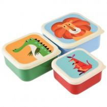 Lunchboxen Set Bunte TIERFREUNDE