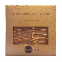 LED Lichterkette KUPFER