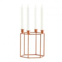 Kerzenständer HEXA Copper