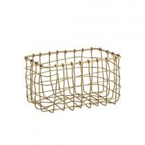 kleines Körbchen Antique Brass
