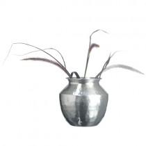Vase Hammered SIlver