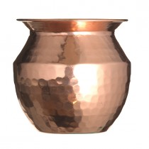 Vase Hammered Copper