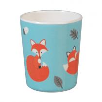 Melamin Becher Rusty the Fox