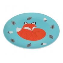 Melamin Teller Rusty the Fox