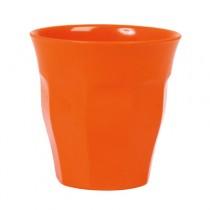 Melamin Becher Unifarben Orange