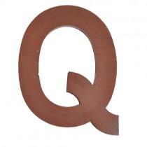 Metallbuchstabe Q