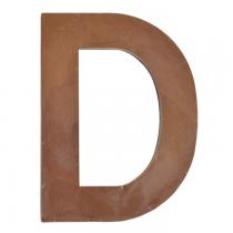 Metallbuchstabe D