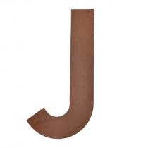 Metallbuchstabe J