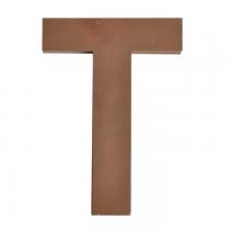 Metallbuchstabe T